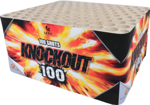 Knock Out  ( Thunder Block 100 Schuss )   Knallbatterie *TOP!*